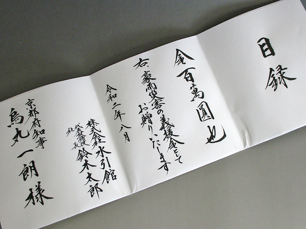 方 お見舞 金 包み お見舞いののし袋の書き方・お金の包み方・名前の書き方
